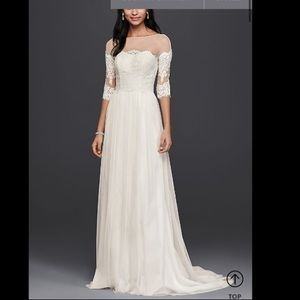 New With Tags Wedding Dress w/ Train